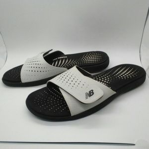 New Balance slide on sandals